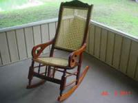 Being offered is a nice rocking chair in excellent