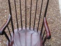 Nichols & Stone Rocking Chair, 73-6. Comfortable,