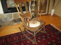 This chair belonged to my grandmother. I guess it was