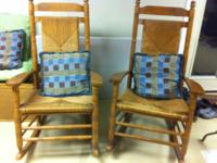 Pair of matching rocking chairs.  Great for sunroom,