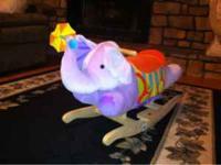 Doll house $100 Rocking elephant $25 OBO  (text)