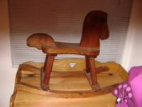 CHILD'S ROCKING HORSE PLEASE CALL OR TEXT  Location: