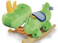 "This is the ""Rockabye Danny Dinosaur Rocker."" It's in"