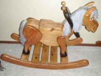 Old Grey Mare Rocking Horse This rocking horse is very