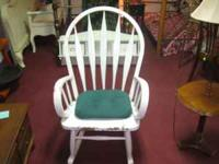 Rocking Chair Very sturdy and wide Come get it at