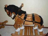 Clydesdale Rocking Horse, is very stable , handmade
