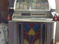 BEAUTIFUL - LIKE NEW  1987 ROCKOLA 1050  45RPM JUKEBOX