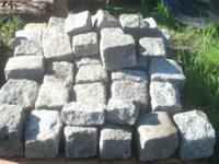 All sizes and shapes of rocks. I have field, lake,