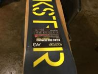 Brand new rockstar snowboard . Asking $120 if