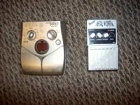 I have a Zoom 505II distortion pedal and a Rocktek