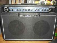 This amp has 2 8 inch speakers pushing out 50 watts. It