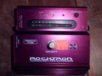 This Rocktron X-Tune chromatic tuner stomp box for