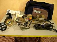 Rockwell Mini Circular Saw w/Laser. Used once for a