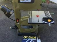 For sale is a used Rockwell Shop Series Band Saw, Model