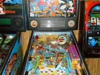 Games in great shape.  No playfield wear, cabinet