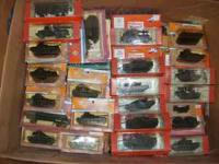 Large collection HO scale Roco Mini-Tanks from late