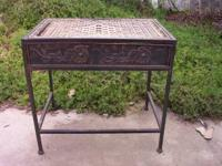 Antique Rod Iron Patio Set For Sale In Temecula