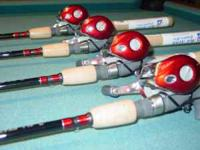 ROD & REEL Combo **NEW** Fishing combo - $75. each ,