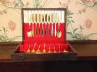 48 Piece American Heritage Gold Plated Dinnerware - IS