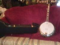 For Sale 5 String Banjo only played a few times. Like