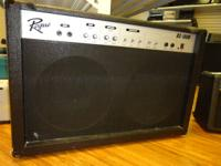 """100W of solid state power 2-12"""" speakers Reverb and"""