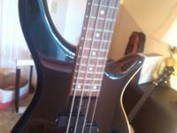 Bass in great condition - the maple neck and rosewood
