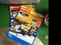Motorized Rokenbok Building Sets. -Monorail Track Set