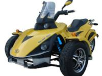 Roketa 250cc Spider Motorcycle Trike CALL SCOTT TODAY