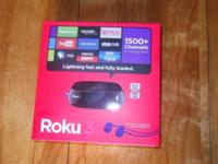 I have a Roku 3 streaming media player that I won in a