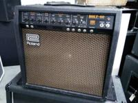 ROLAND Vintage BOLT-60 Guitar TUBE Amplifier COMBO.