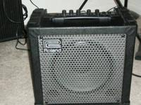 For Sale: Roland Cube 30X modeling guitar amplifier.