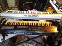 Roland D10 synthesizer 200Yamaha EMX 2300 mixer & (2)