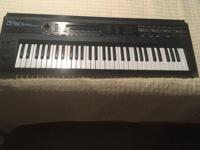 Roland D-50 Linear 61-key Synthesizer, a true classic!