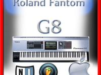 Roland Fantom G8 sounds +Vst pluginsee connected to