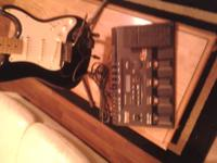 It is attached to my Strat', it has 360 different