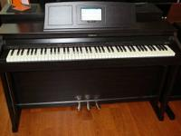 This digital piano is in MINT LIKE NEW condition, we