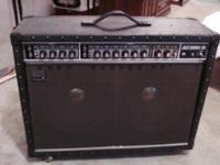 1982 Roland amp with custom cover , amp control and