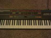 "For sale: A ROLAND Juno-106 the ""classic"" analog"