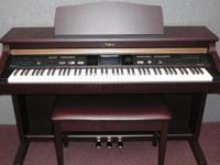 This is a slightly used digital piano in like new