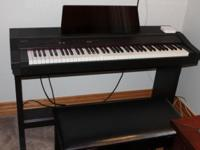 Need a new home for my Roland keyboard Piano it is in