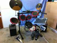 Electronic drum equipment for sale in excellent