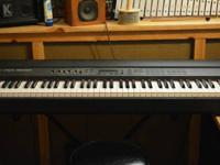 Roland RD-500 digital piano.  KEYBOARD:. 88 Keys
