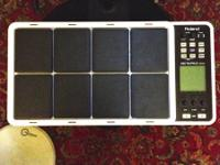 This package includes:  - SPD-30 Octapad with the power