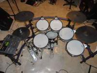 Just like new Roland TD-10 Electronic Drum Set with