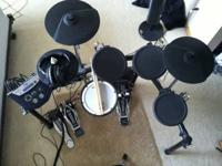 Digital Drums. Roland TD-4 Drum Kit: complete with all
