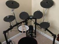 For sale is a Roland TD-4 V-Drums Compact Series Drum
