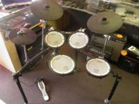 A bold makeover for budget friendly V-Drums. Based upon