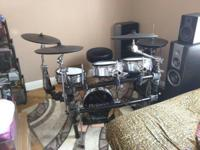 Im selling a used Roland td30kv electronic drum kit.