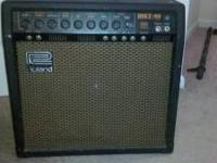 Rare tube hybrid combo. The only tube amp Roland ever