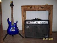 Roland Amp VGA-5 with Ibanez RGA42 6 string electric
